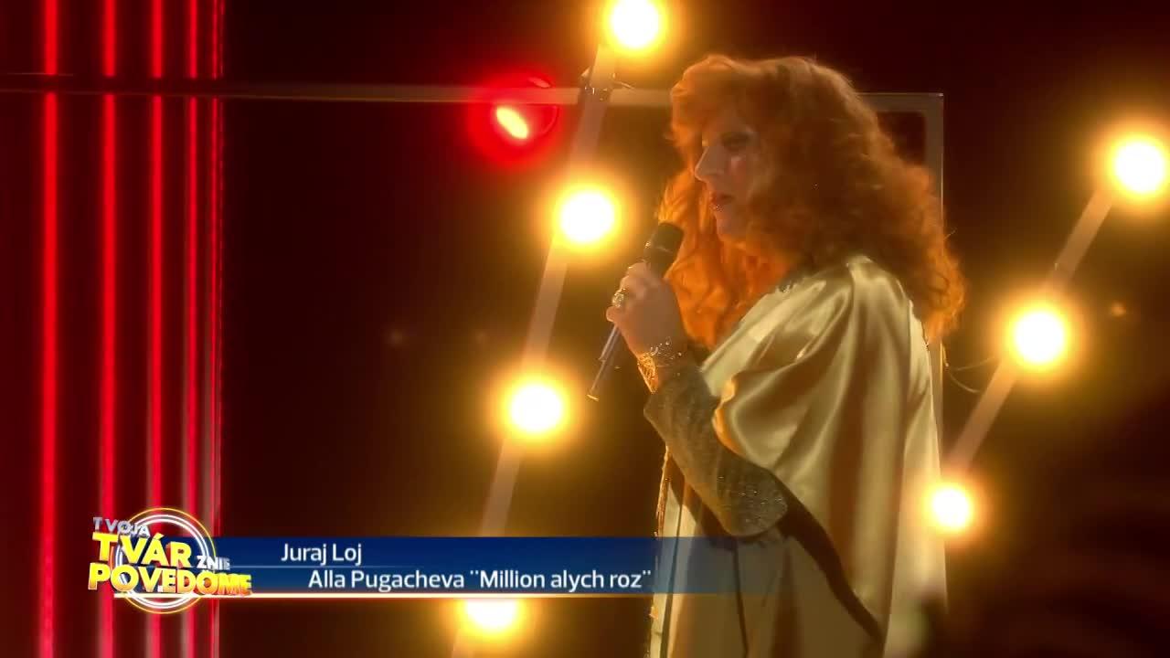 Juraj Loj - Alla Pugacheva (Miliony Alych Ros)