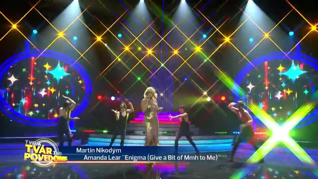Martin Nikodým - Amanda Lear (Enigma)
