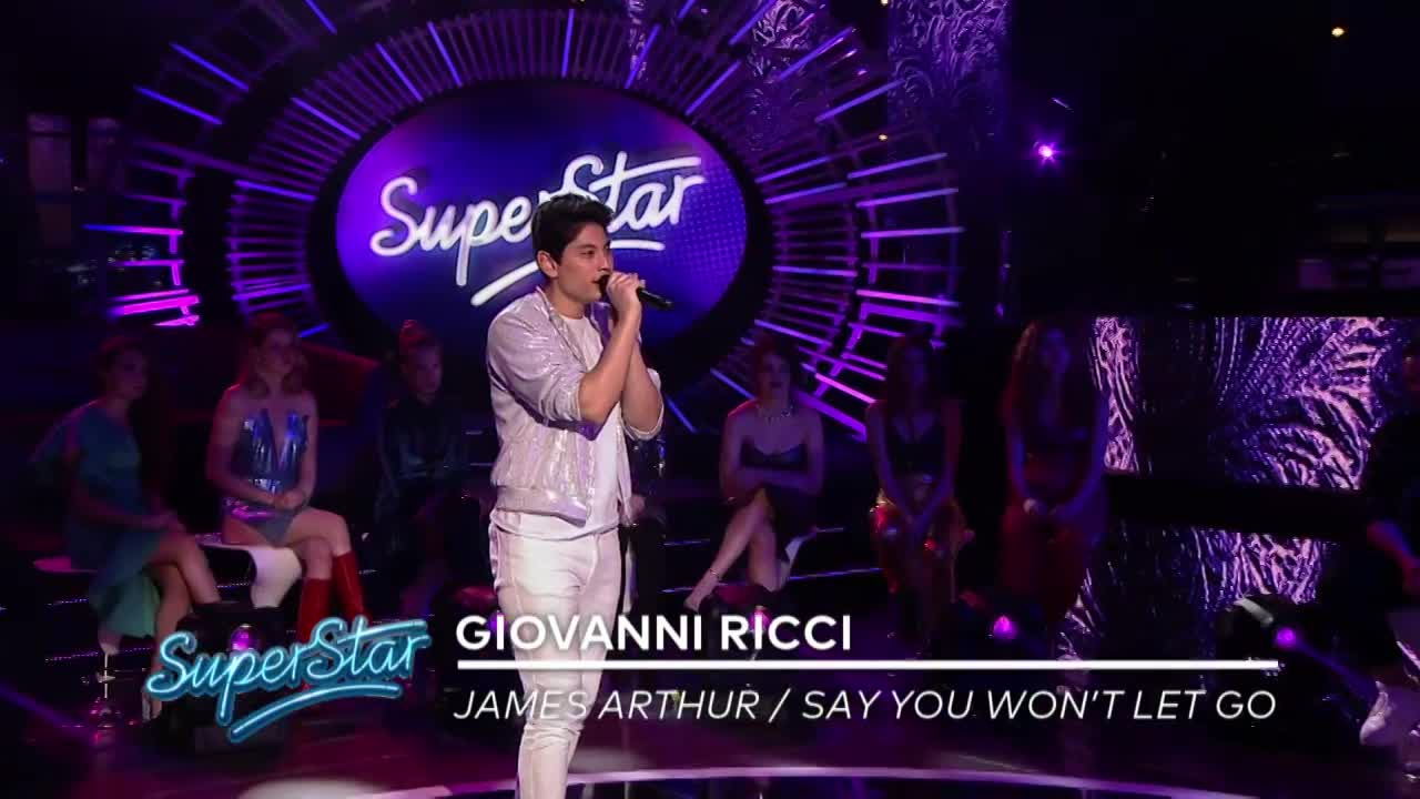 SuperStar ukážka - Posledný SuperVýber: Giovanni Ricci